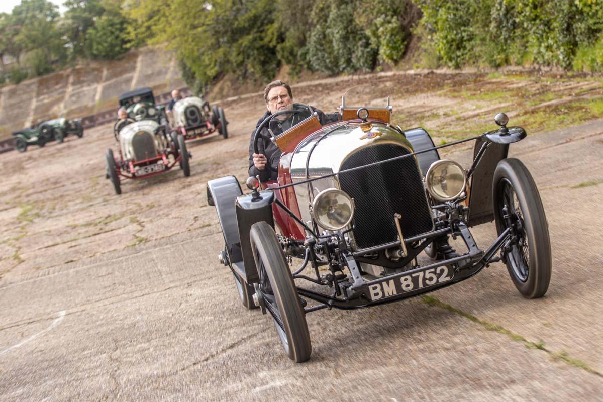 Bentley celebrate centenary of success