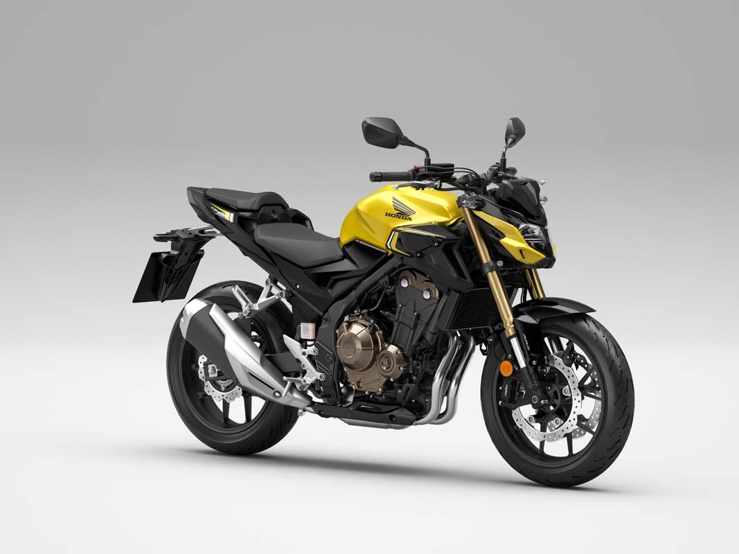 Honda updates CB500 range for 2022