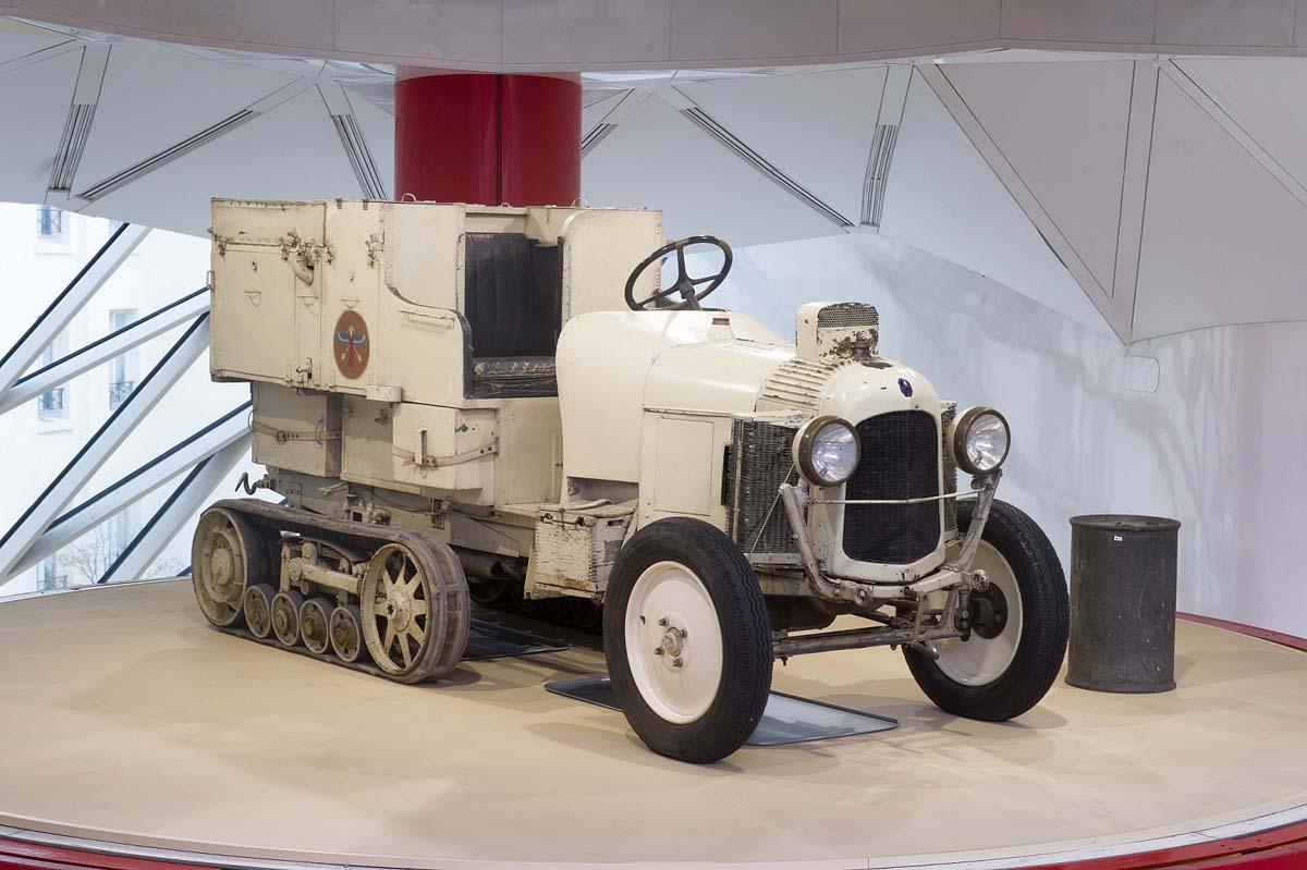 FEATURE - 1922 Citroën Kegresse Auto-chenille