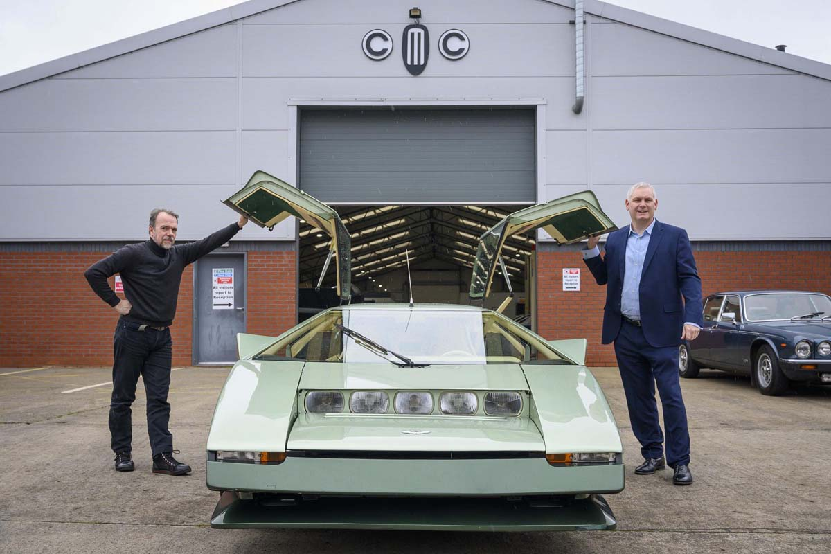Aston Martin Bulldog resto completed