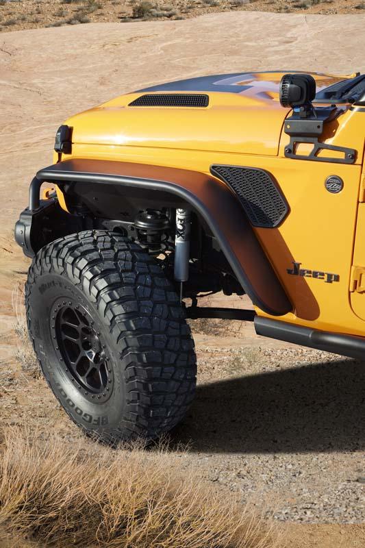 FEATURE – 2021 Jeep Orange Peelz concept