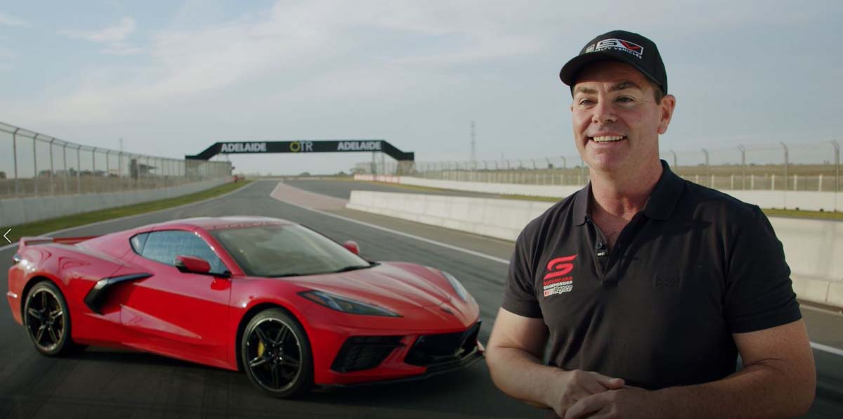 Corvette makes Aussie track debut