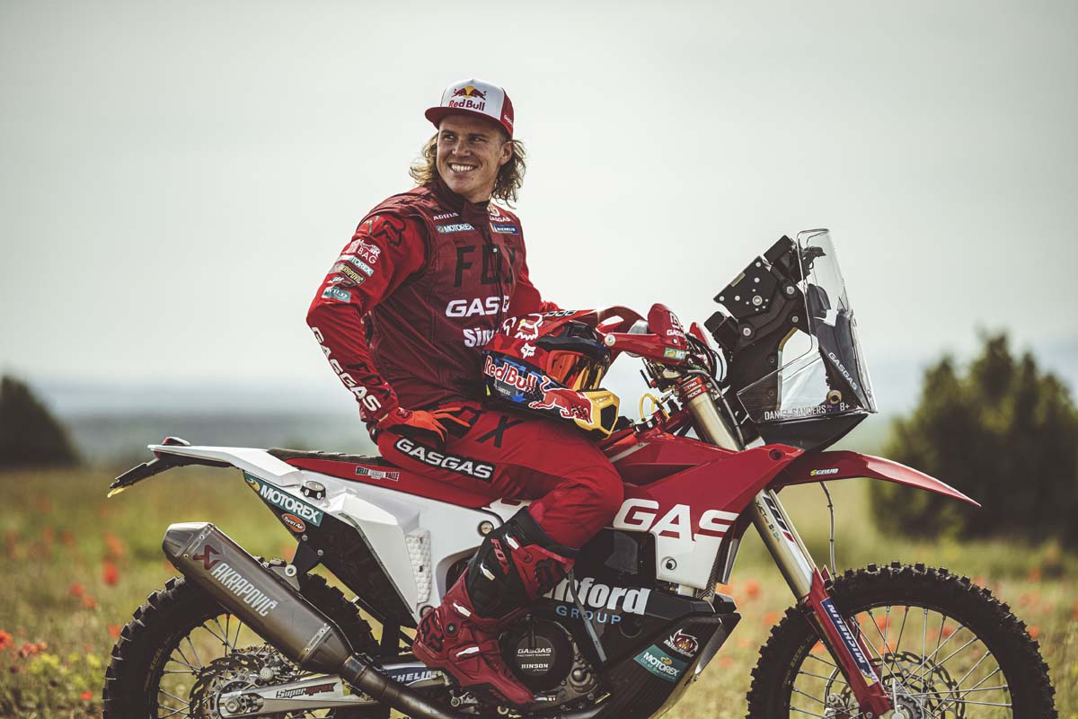 Daniel Sanders signs with GasGas Factory Racing
