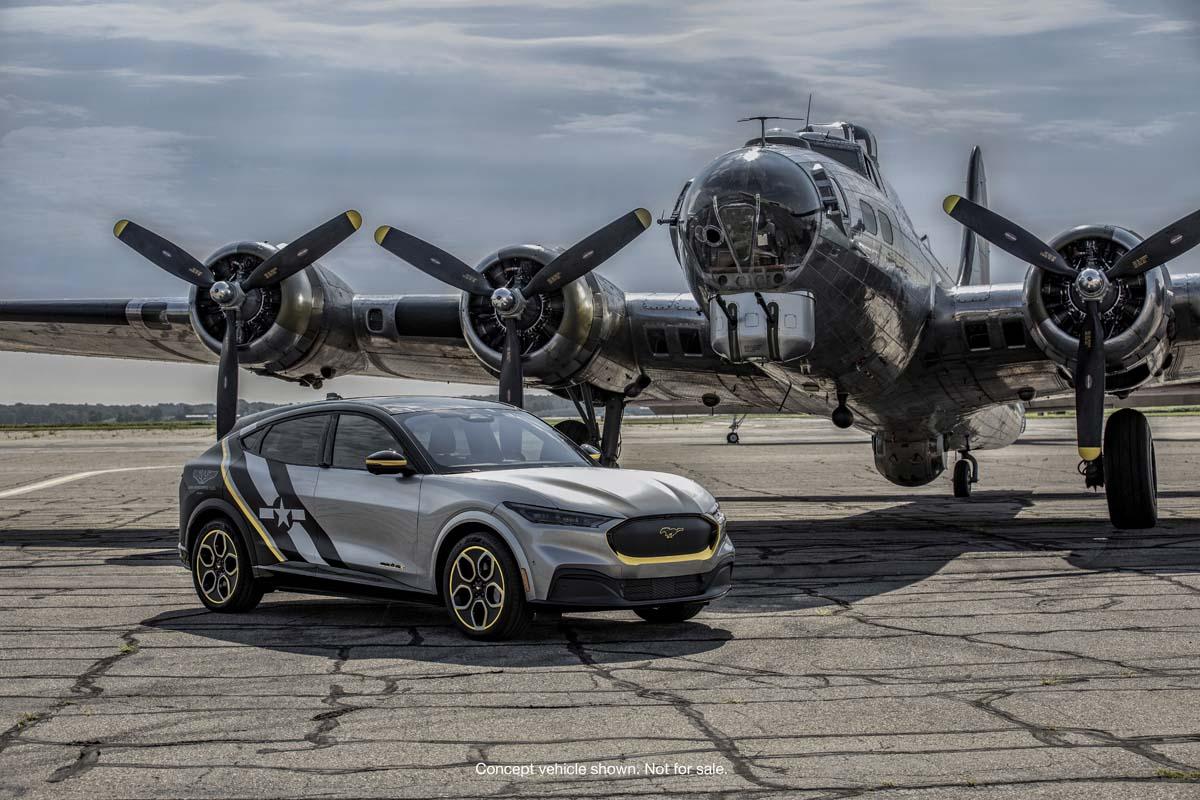 Ford build 'WASP' Mach-E SUV