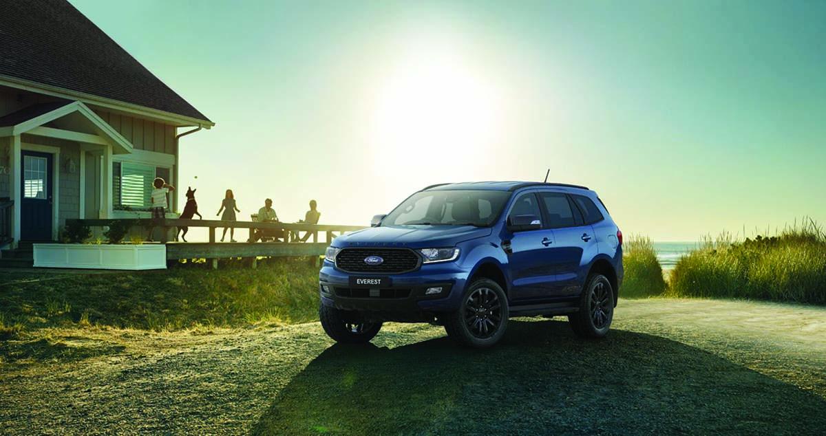 Ford brings back Everest BaseCamp, adds Sport RWD