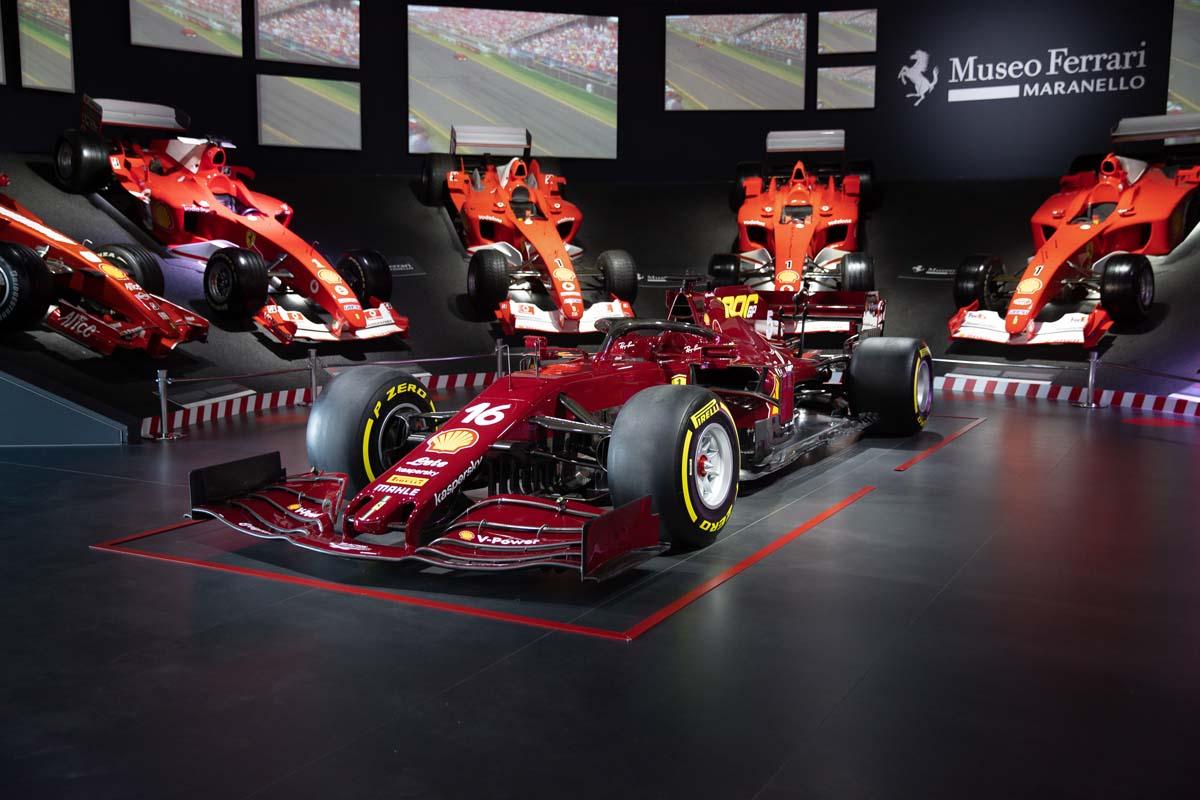 Ferrari '1000th' F1 auction nets AU$2.73M