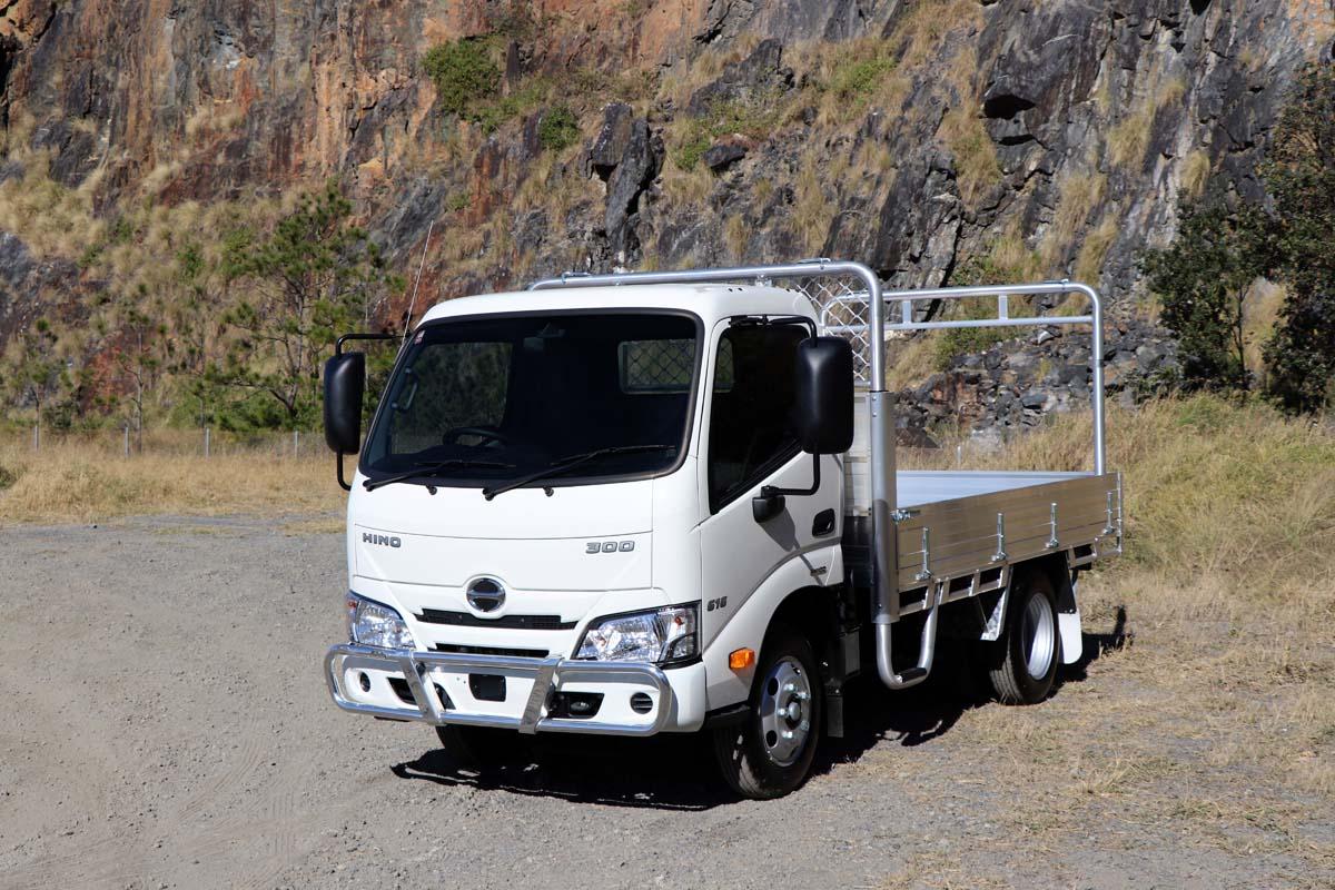 Win a Hino 300 Series TradeAce