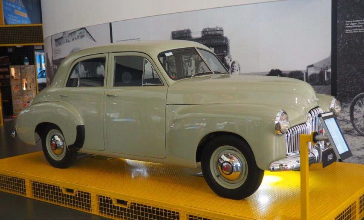 Holden disperses heritage collection