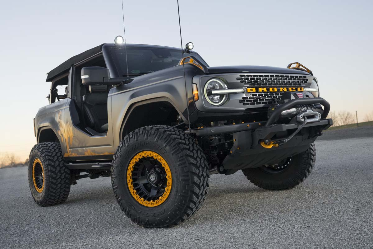 FEATURE - 2021 Ford Bronco Badlands Sasquatch concept