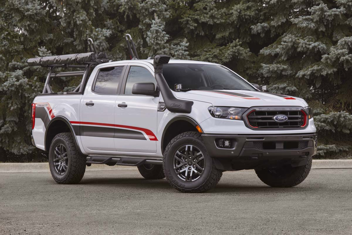 FEATURE - 2021 Ford Ranger Tremor concept