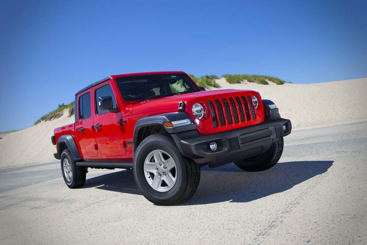 Jeep adds 'Sport S' spec to Gladiator
