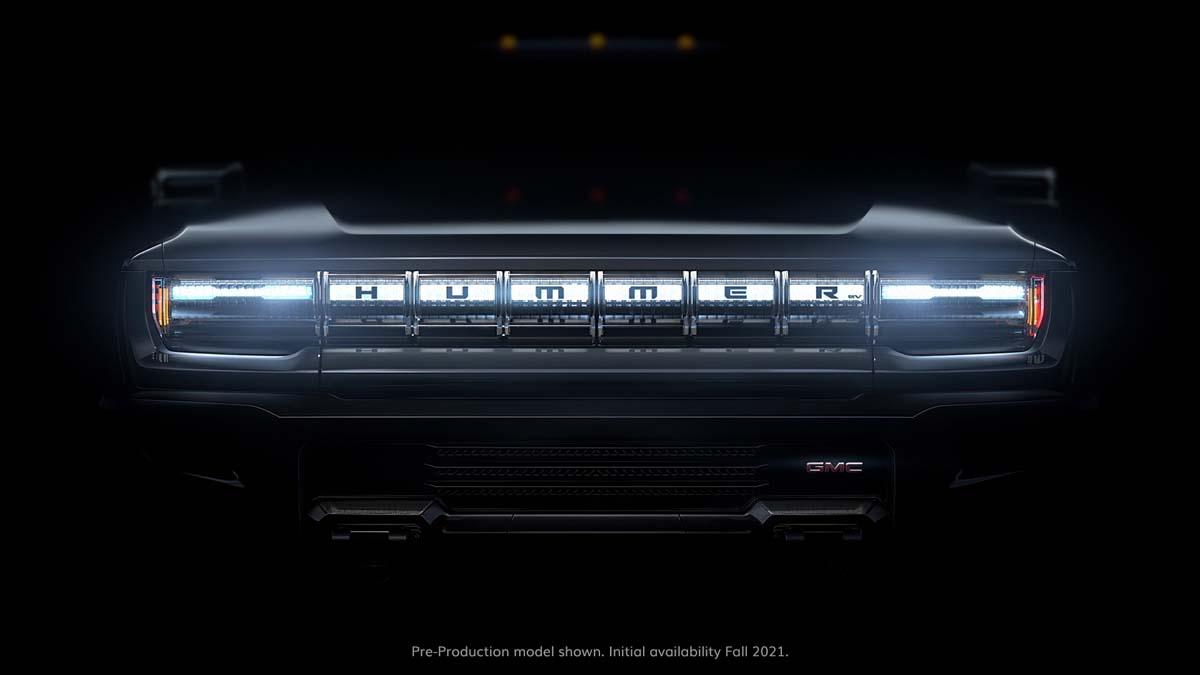 GMC Hummer release updated