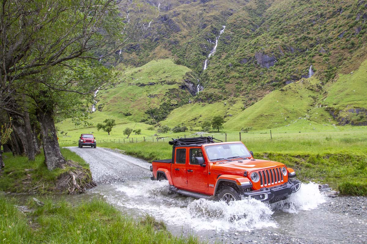 Jeep Gladiator now in dealerships