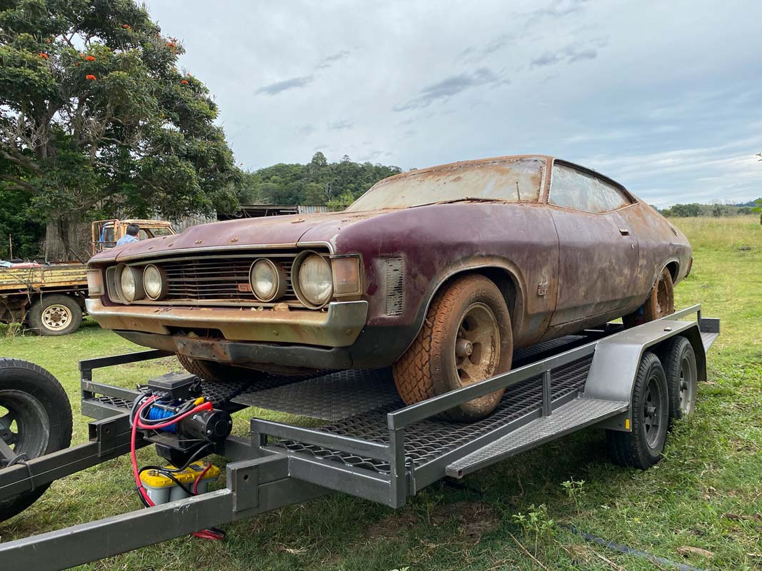 Another barn-find XA GT surfaces