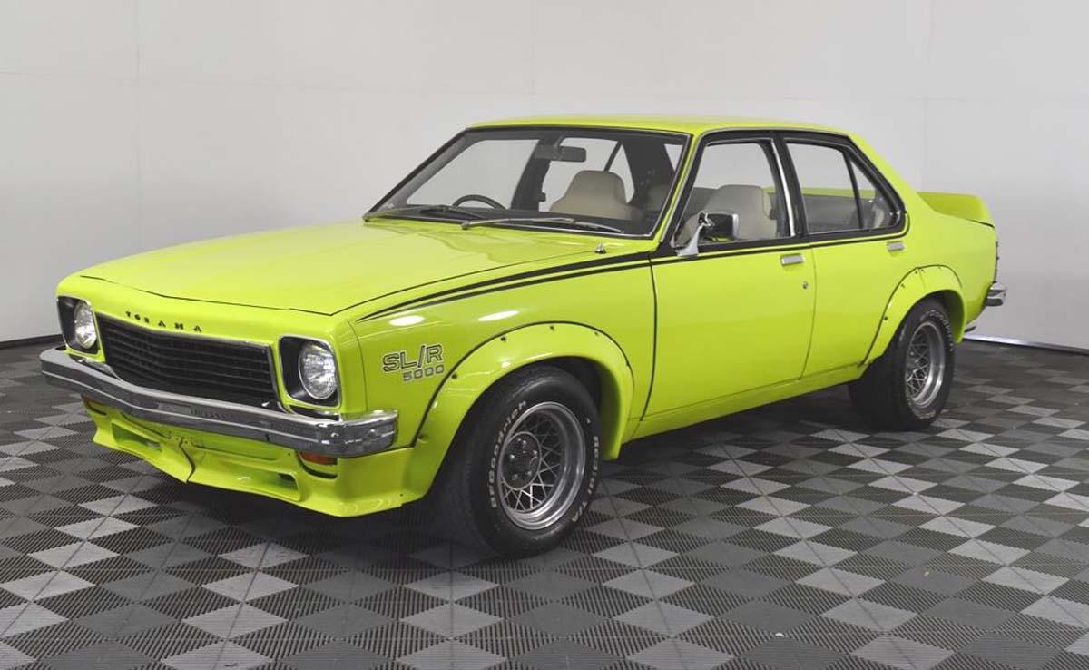 1974 Holden Torana LH SL/R 5000