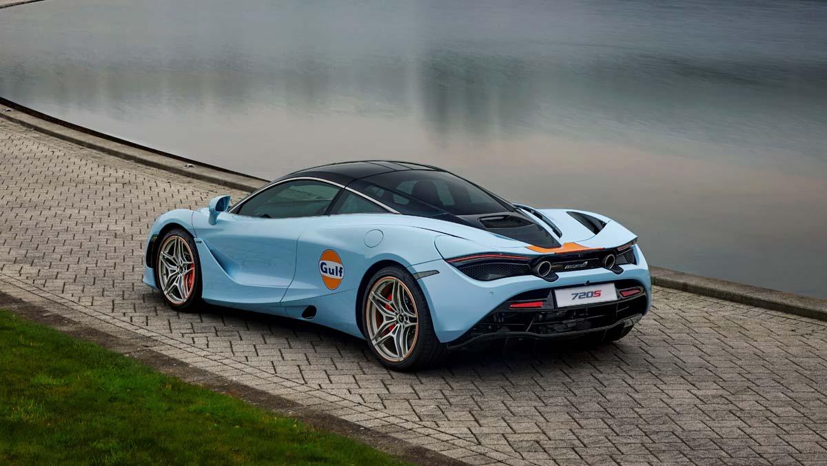 McLaren 720S gets Gulf treatment