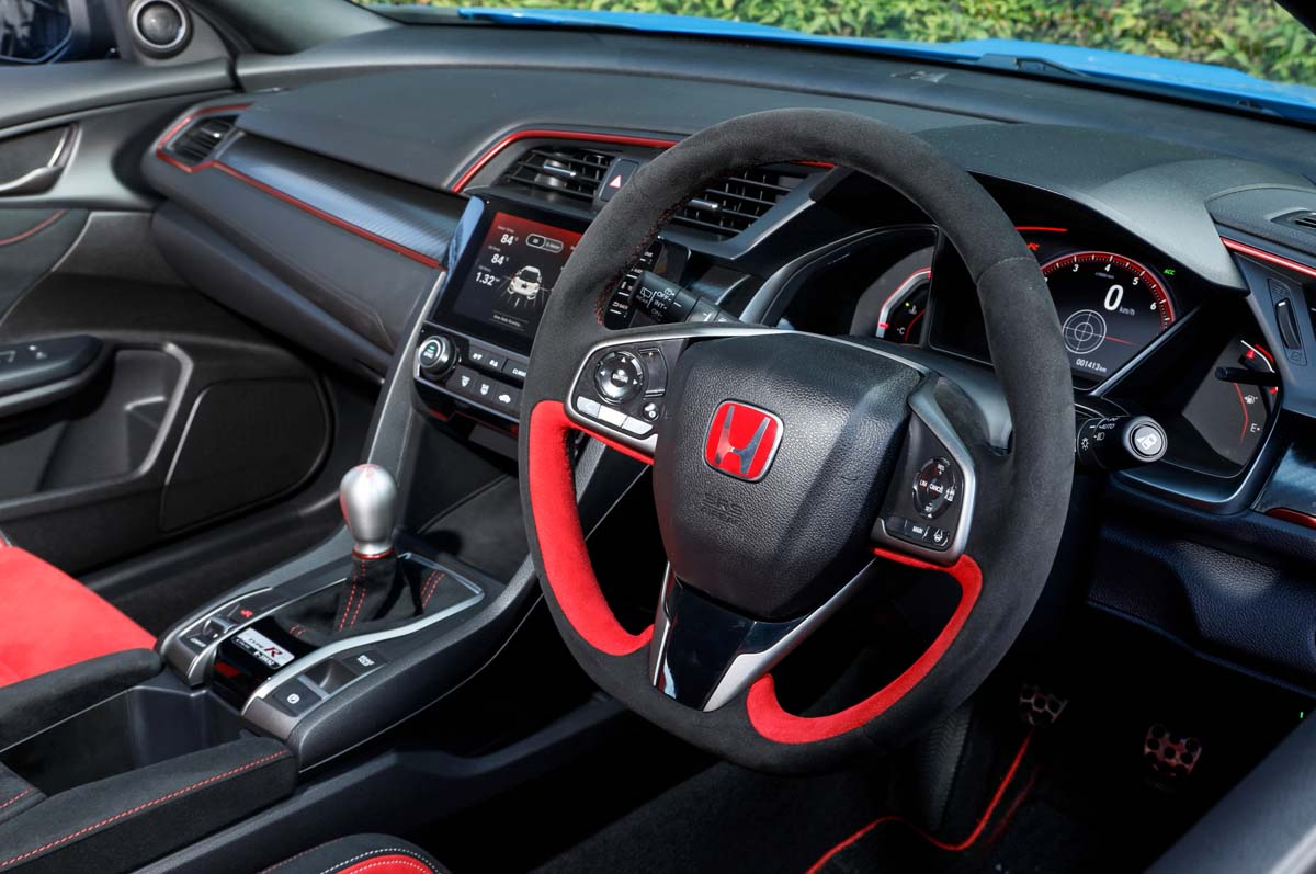 Updated Honda Civic Type R arrives