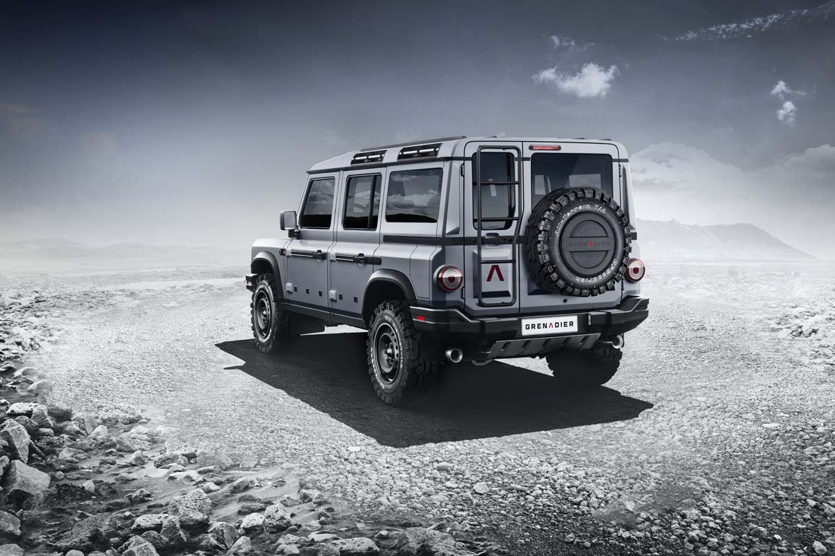 Ineos Auto reveals design for 'Grenadier' 4x4