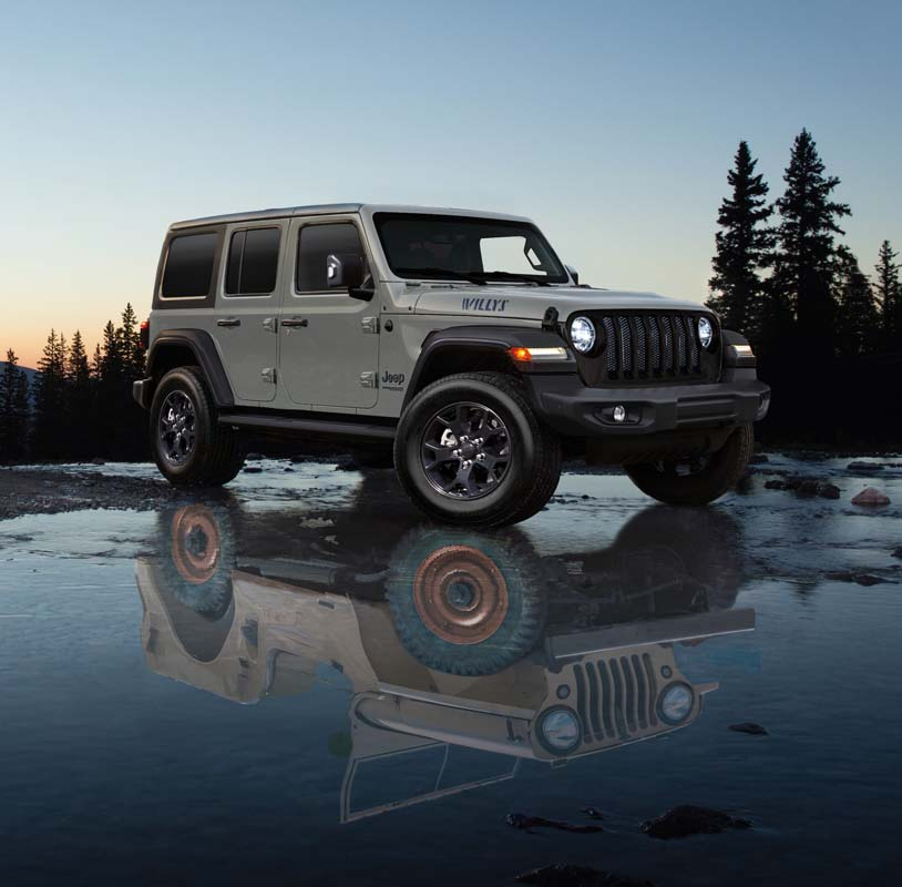 Jeep release Wrangler Unlimited Willys