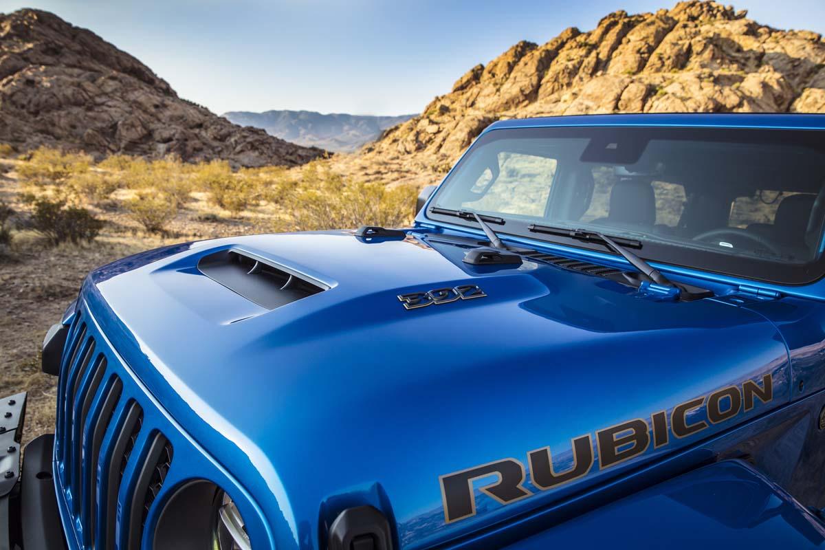 Jeep confirms Wrangler V8