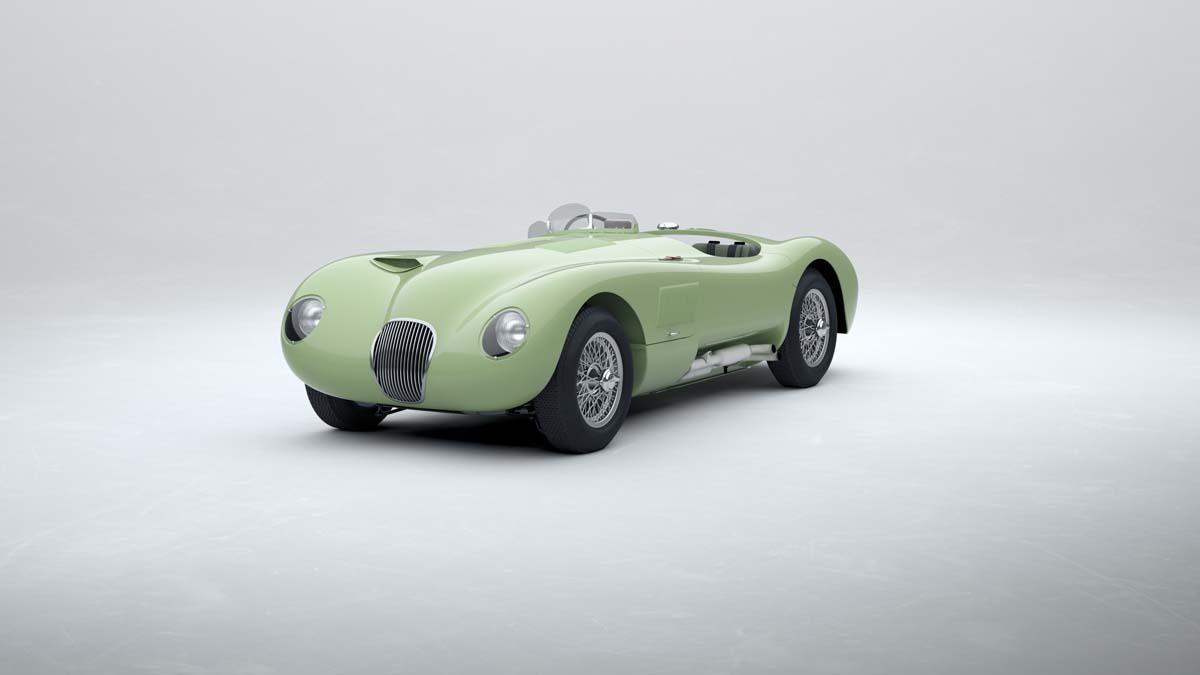 Jaguar to build new C-type racers