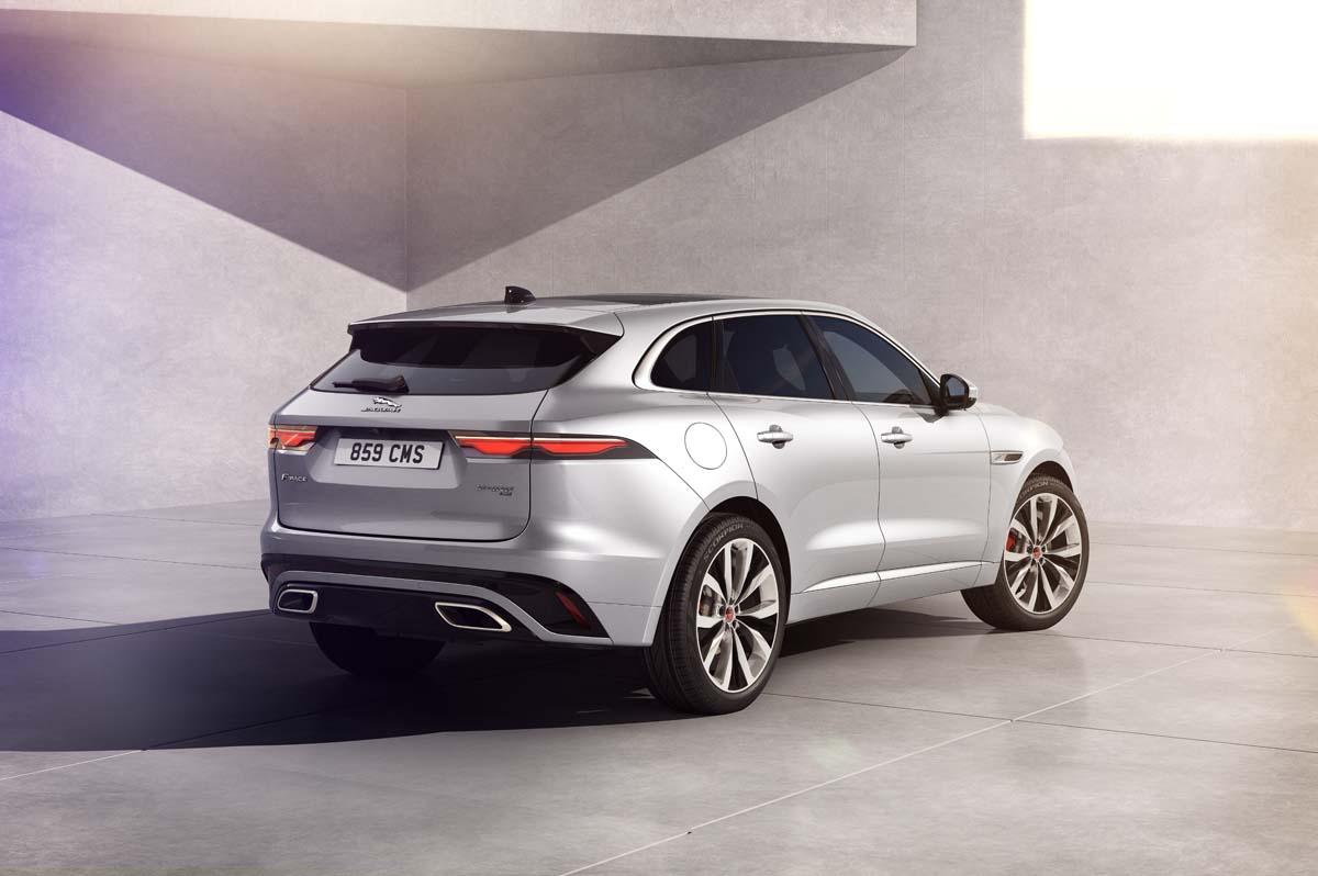 Jaguar updates F-Pace