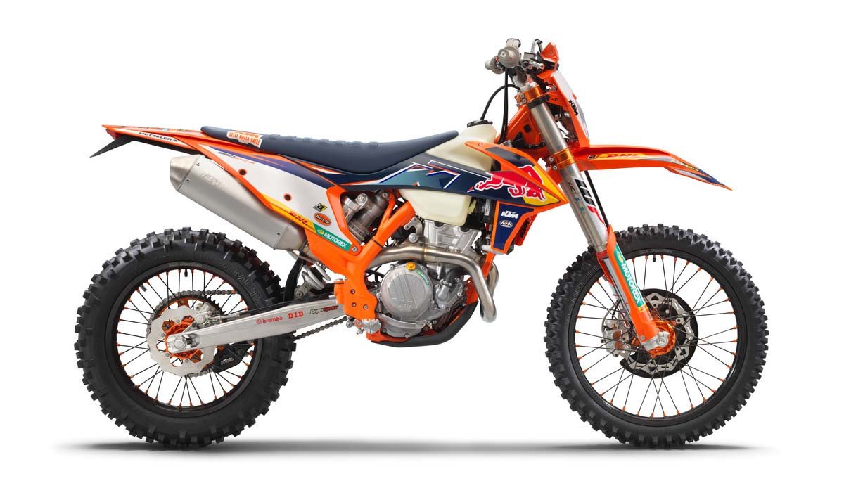 KTM previews 2022 350 EXC-F Factory Edition