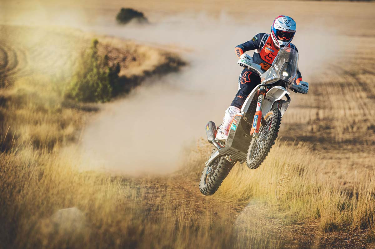 Sanders ready for Dakar challenge