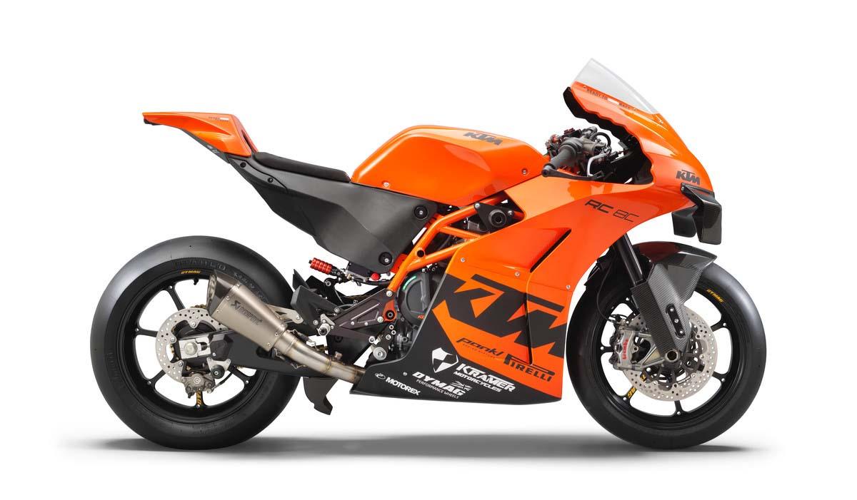 FEATURE - 2021 KTM RC 8C
