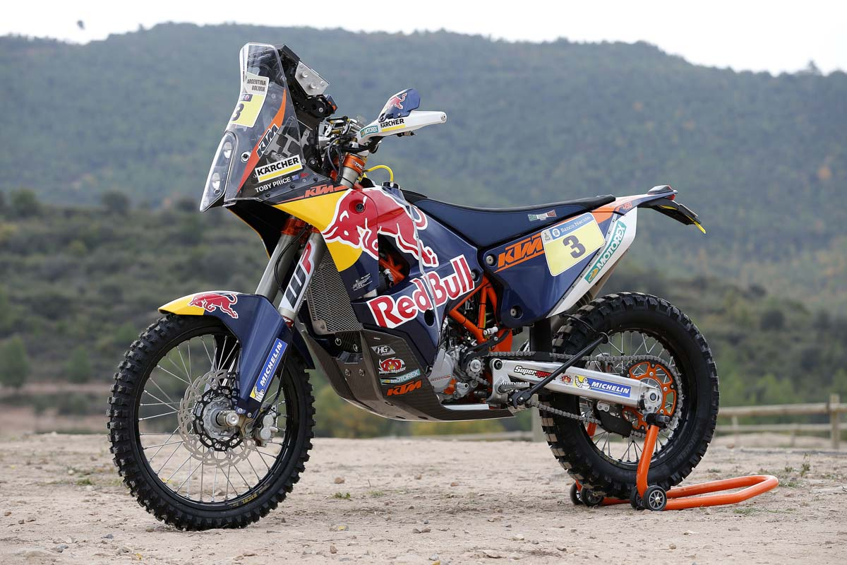 The Motorcycle: Design, Art, Desire PREVIEW - 2015 KTM 450 Rally