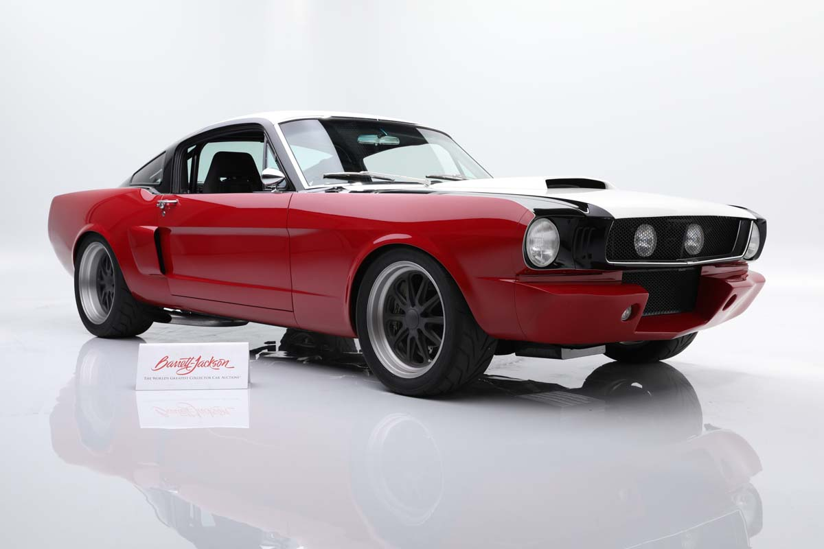 Hot Mustangs feature at Barrett-Jackson auction