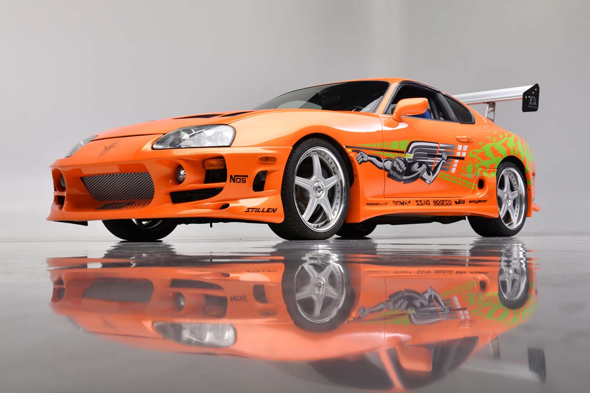 Fast and Furious Supra auctioned for US$550,000