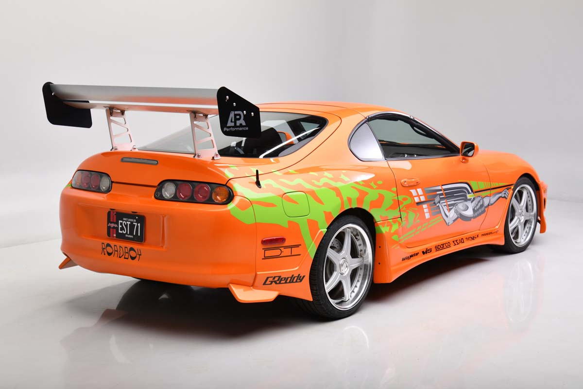 Fast and Furious Supra going to auction in US