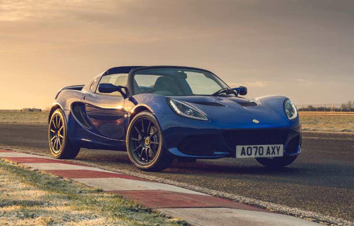 Lotus Elise Final Editions in detail