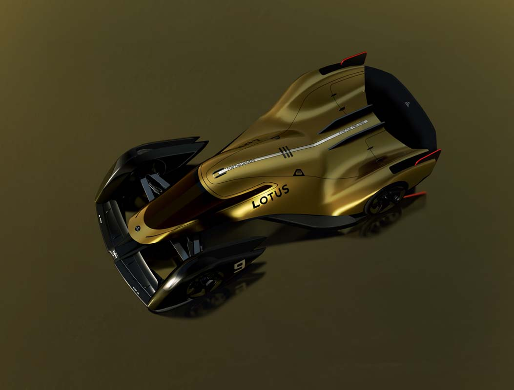 Lotus presents E-R9 race concept
