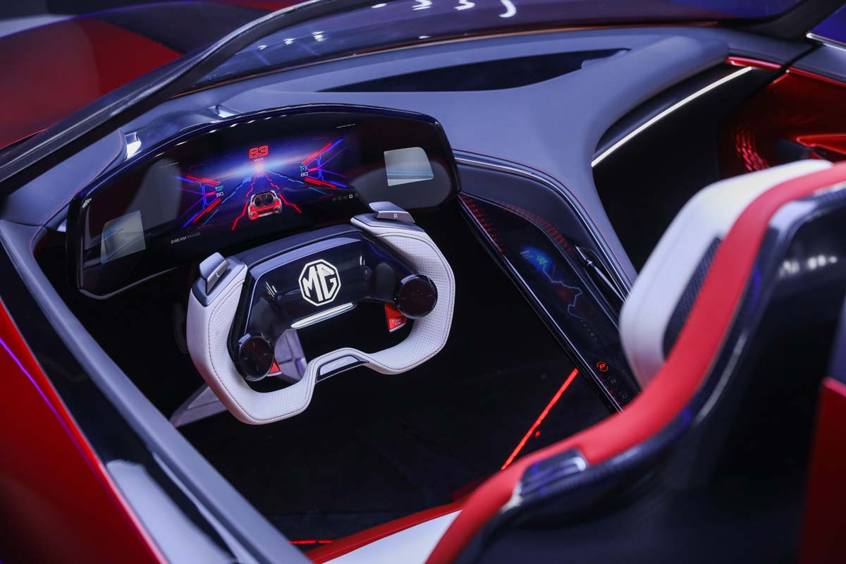 MG unveils 'Cyberster' concept