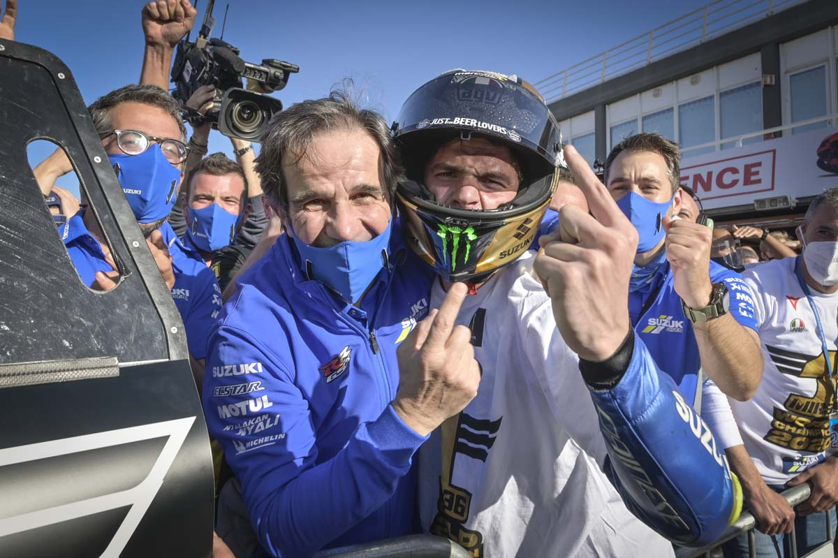 Joan Mir wins 2020 MotoGP World Championship