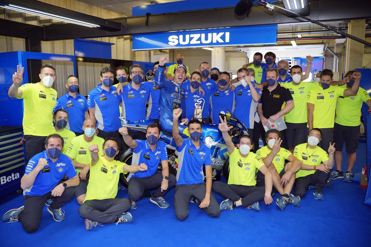 Suzuki commits to MotoGP to 2026