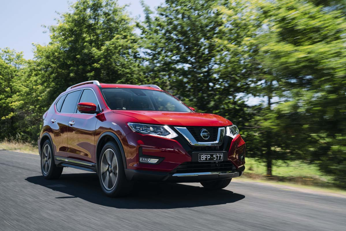 Nissan updates X-Trail
