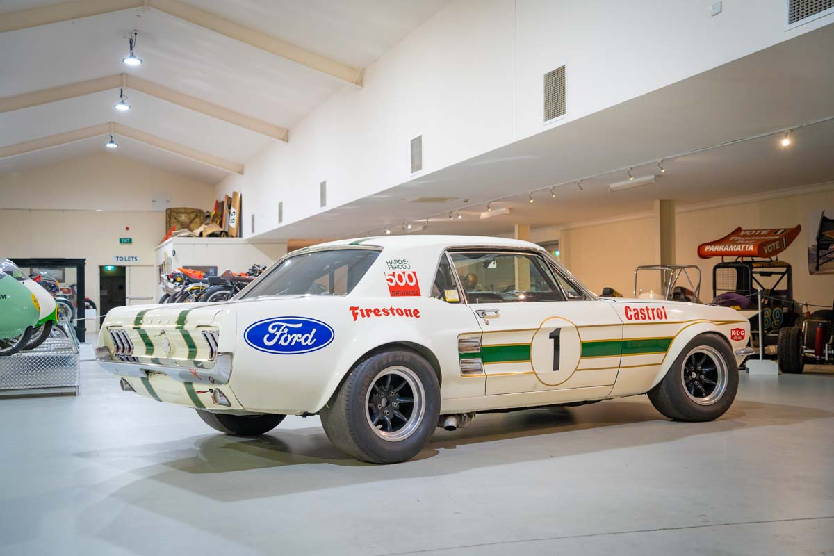 Pete Geoghegan's racing Mustang GTA is going to auction