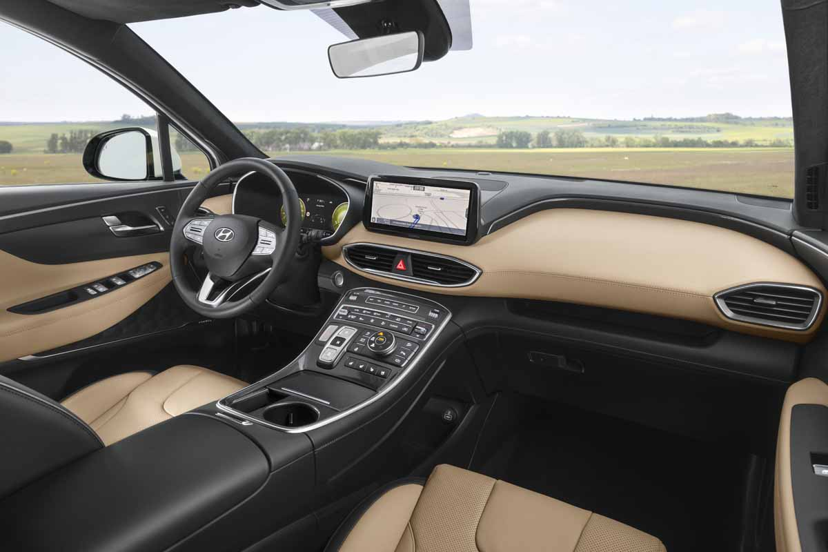 New-look Hyundai Santa Fe revealed
