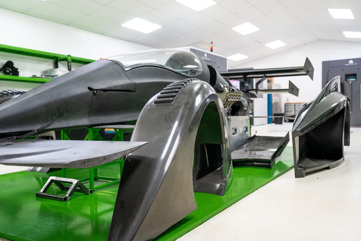 TECH – RODIN'S 1000KW+ V10 ENGINE