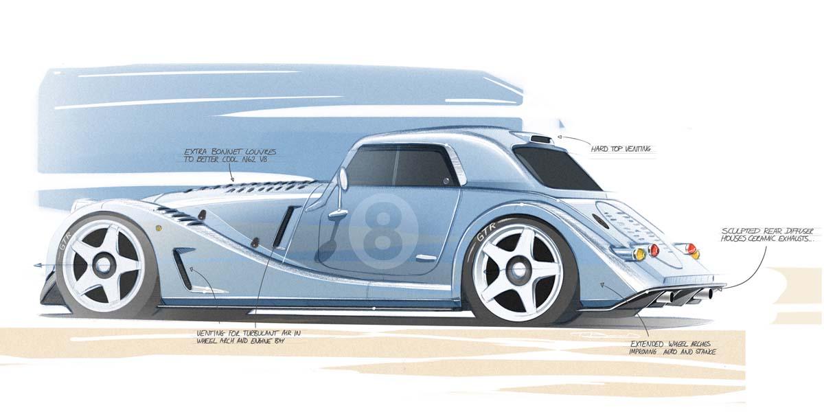 Morgan announces Plus 8 'GTR' project