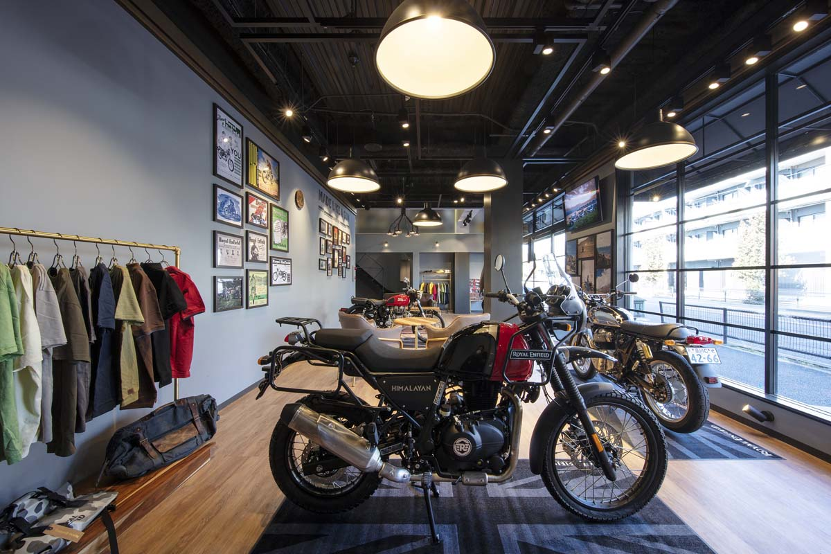 Royal Enfield launches in Japan
