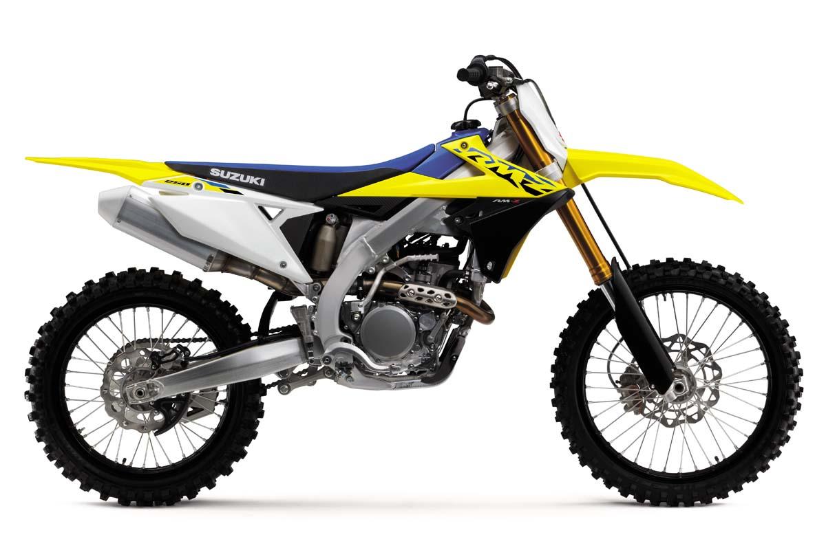 Suzuki reveals 2021 RM-Z range