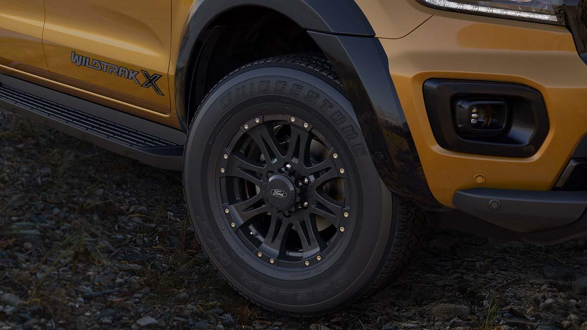 Ranger Wildtrak X restyled for 2021