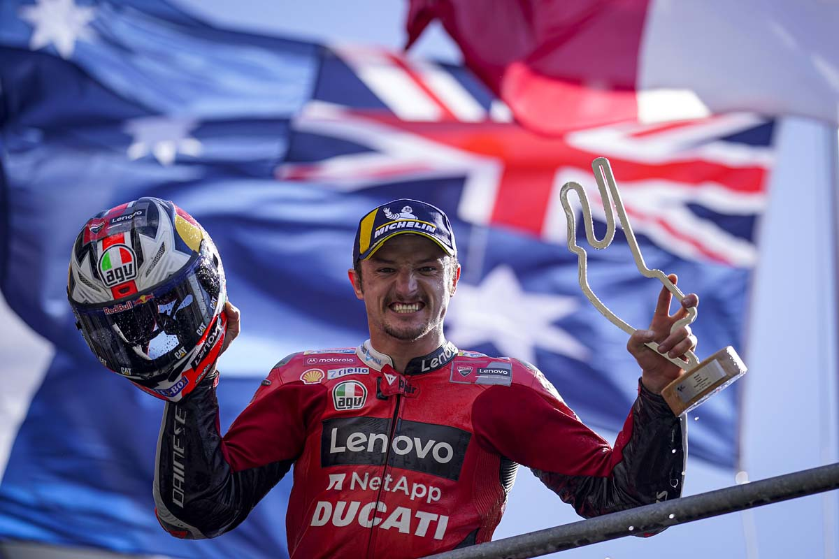 Miller re-signs with Ducati for 2022