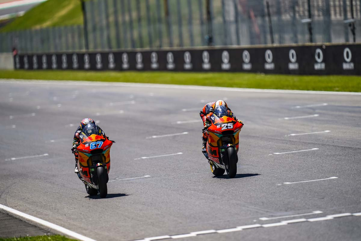 Gardner builds momentum in 2021 Moto2 season