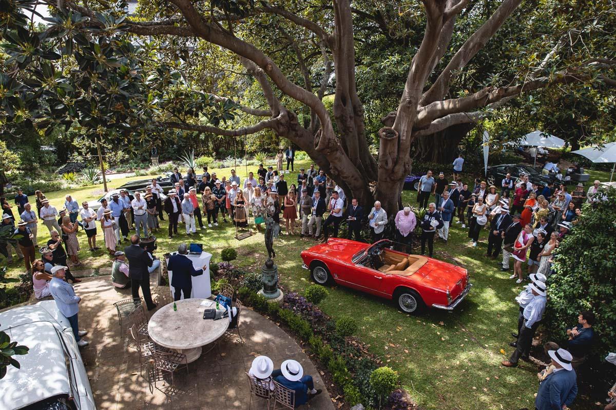 Ticket release for 2022 Sydney Harbour Concours d'Elegance