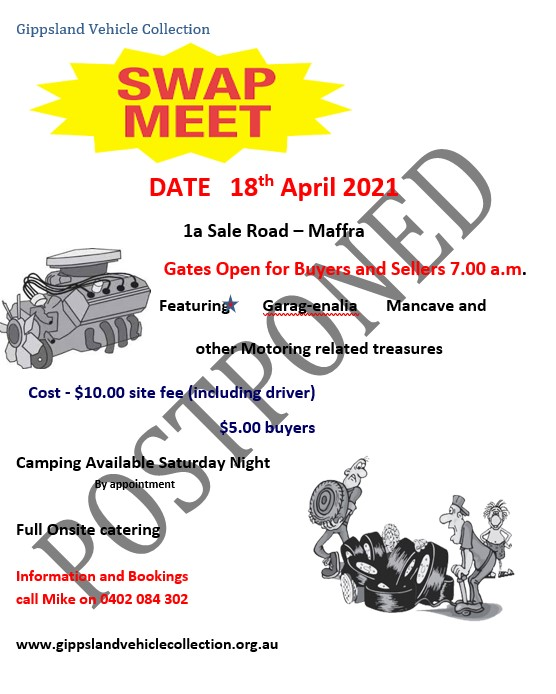 GIPPSLAND VEHICLE COLLECTION SWAP MEET